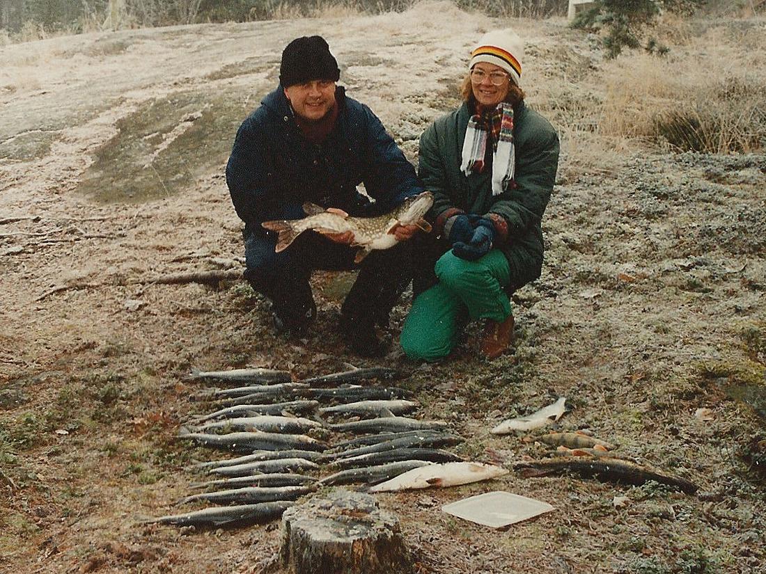 gädda ljusterö hemgården 1991