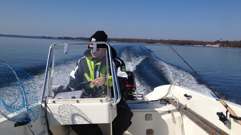 kassmyr kör båt