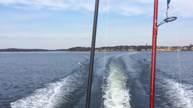 åka båt vaxholm