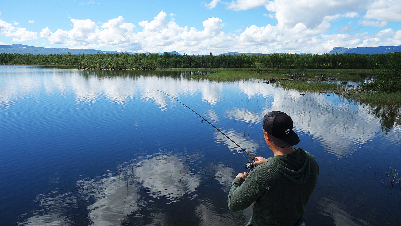 fiske ammarnäsfjällen