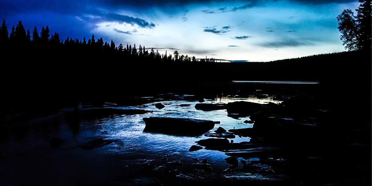 sjöforsen ammarnäs natt