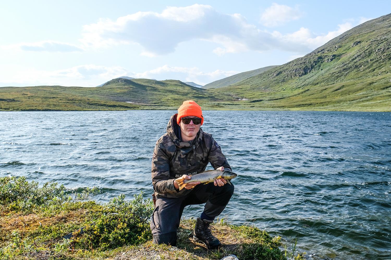 fiske kalfjället ammarnäs