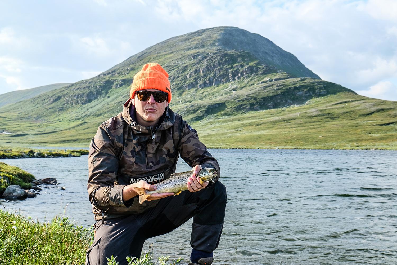 fiske fjällen ammarnäs